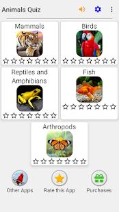 Animals Quiz - Learn All Mammals and Dinosaurs! screenshots 3