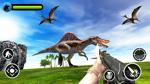 Dinosaur Hunter apktreat screenshots 1