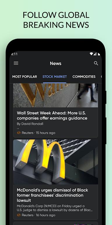 Stoxy PRO - Stock Market. Finance. Investment News poster 7