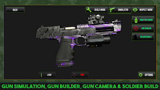 Custom Gun Simulator 3D apkpoly screenshots 13