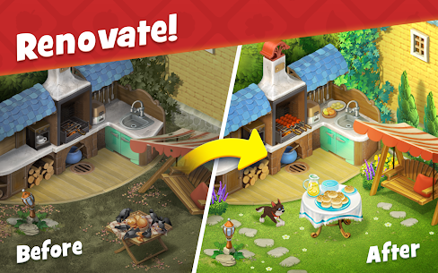 Gardenscapes Mod Apk Unlimited Stars/Coins 3