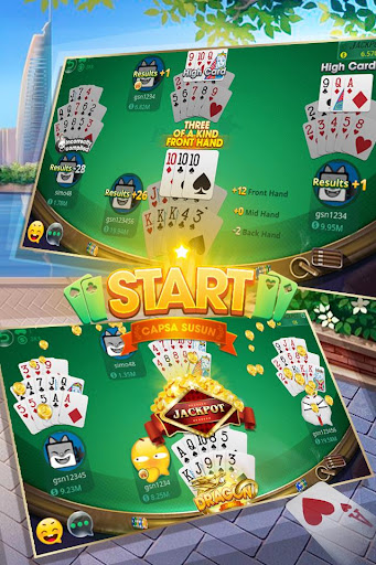 Pusoy - Best Chinese Poker for Filipinos 2.5 screenshots 2