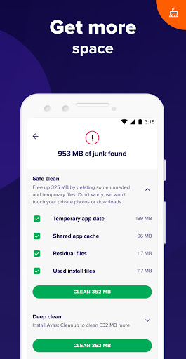 Foto do Avast Antivirus – Scan & Remove Virus, Cleaner
