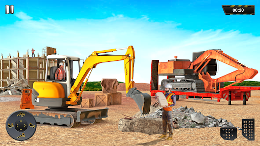 Heavy Excavator Crane Sim Game 2.2 screenshots 5