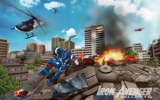 Iron Avenger - No Limits apkpoly screenshots 9