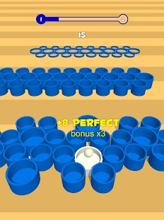 Basket throw: cup pong ball game. Toss & dunk it! Screenshot