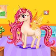 Rainbow Unicorn Makeover: Hair Salon for Girls