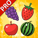 Fruits Cards PRO (Learn English Faster)