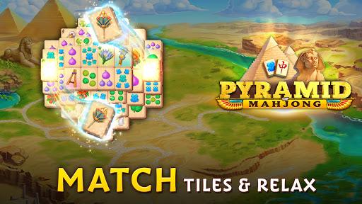 Pyramid of Mahjong: A tile matching city puzzle  screenshots 17