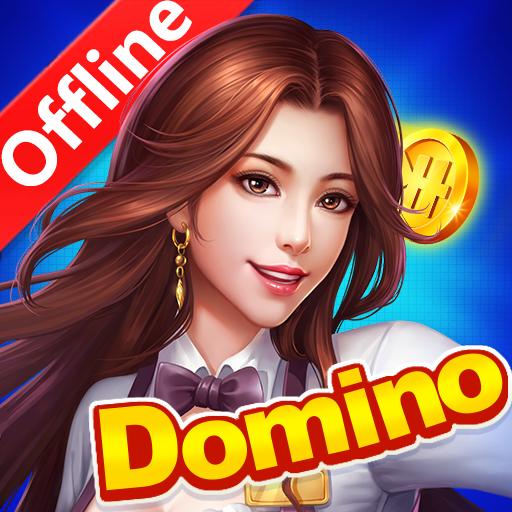 Classic Dominos Offline : Block Draw All Fives