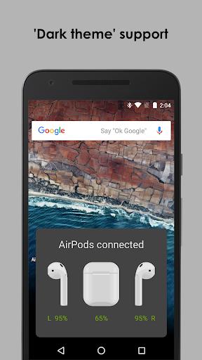 AirBuds Popup Free - airpod battery app v2.6.200111 free Screenshots 4