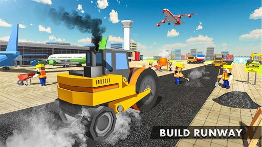 vegas city runway - build and craft screenshot 1