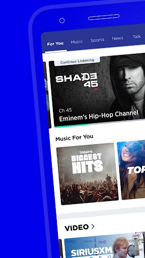 SiriusXM: Music, Radio, News & Entertainment screenshots 10