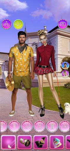 Celebrity Fashion Makeover - Dress Up Games 1.1 screenshots 2