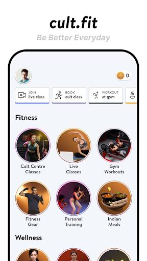 cult.fit Fitness, Meditation, Healthy food, Doctor  screenshots 1