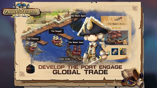 Pirates Legends-The War of Ocean Mod Apk (Stats Equip x20) 10