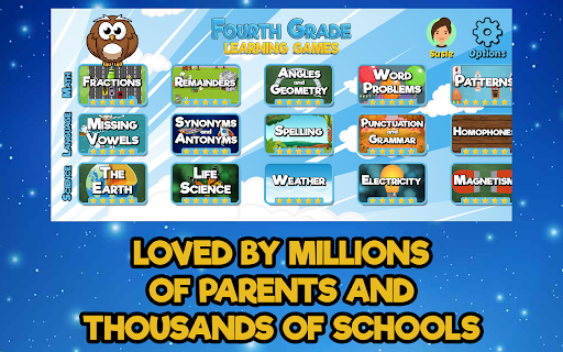 Fourth Grade Learning Games screenshots 4