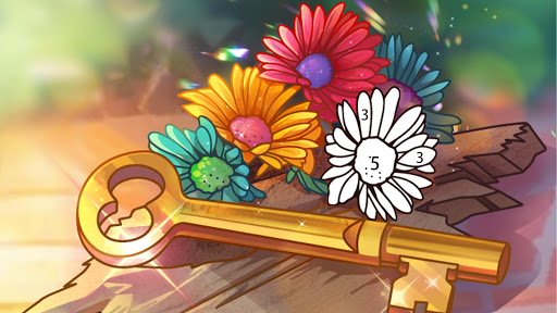 Coloring Book: Color by Number Oil Painting Games apkpoly screenshots 7