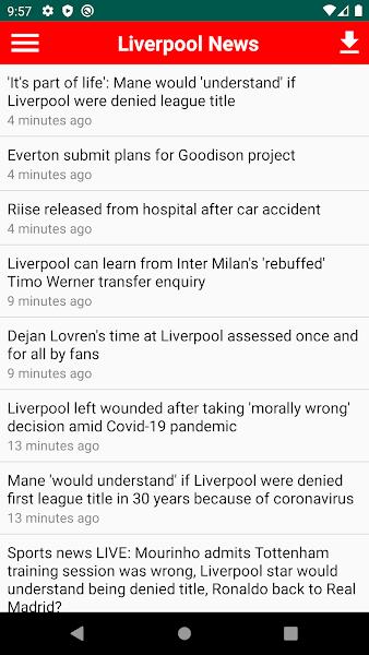 Liverpool Breaking News