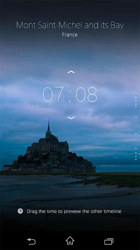 α CLOCK