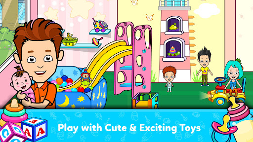 My Tizi Town - Newborn Baby Daycare Games for Kids 1.4 Screenshots 4