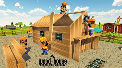 Wood House Construction Simulator 1.1 screenshots 2