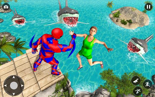 Superhero Police Speed Hero:Rescue Mission apklade screenshots 1