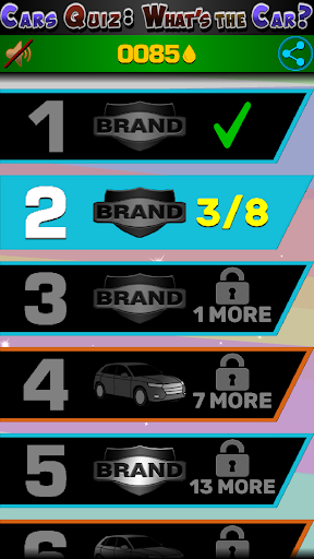 Cars Quiz 3D 2.2.1 screenshots 8
