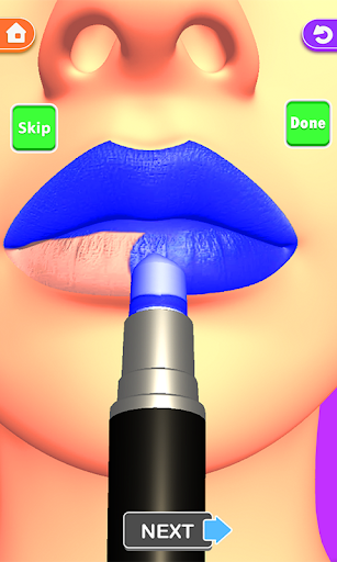 Télécharger Lèvres faites! Jeu ASMR 3D Lip Art satisfaisant mod apk screenshots 3