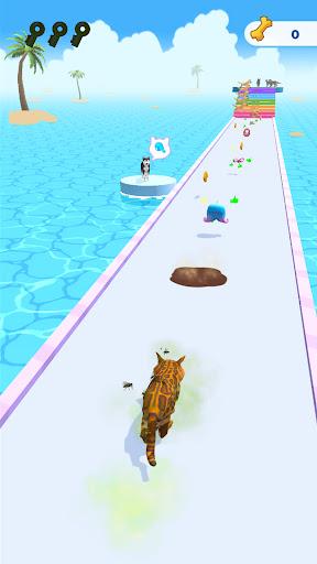Cats run 3D  screenshots 1