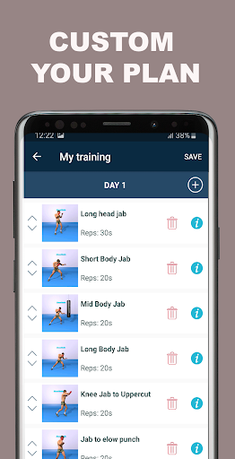 Kickboxing Fitness Trainer - Lose Weight At Home  Screenshots 9