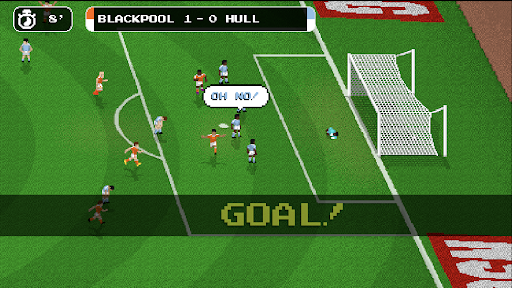 Retro Goal Apkfinish screenshots 4