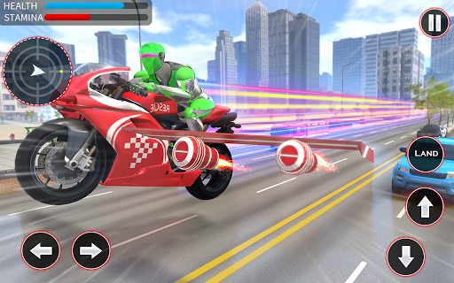 Light Speed Robot Hero - City Rescue Robot Games 1.0.2 screenshots 4
