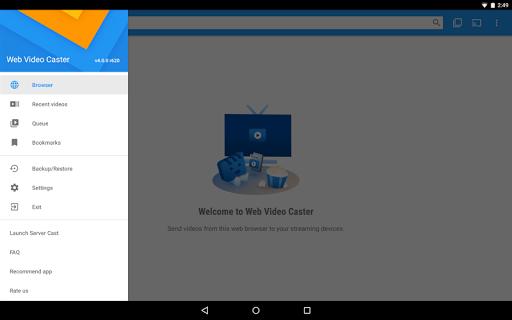 Web Video Cast | Browser to TV/Chromecast/Roku/+ 5.1.12 Screenshots 7