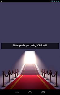 Скриншот №2 к SDR Touch Key