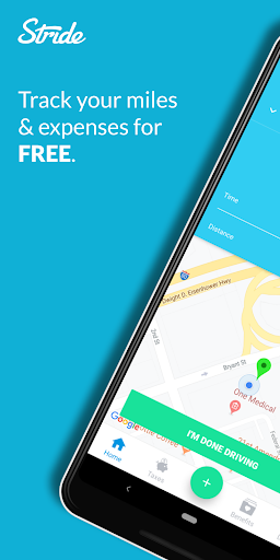 Stride: Free Mileage, Expense & Tax Tracker  screenshots 1