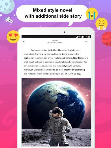 Joylada - Read All Kind of Chat Stories apktram screenshots 12