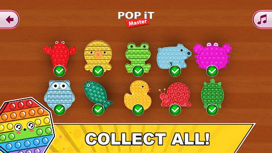 Pop it Master - antistress fidget toys calm games 0.0.2 Screenshots 16
