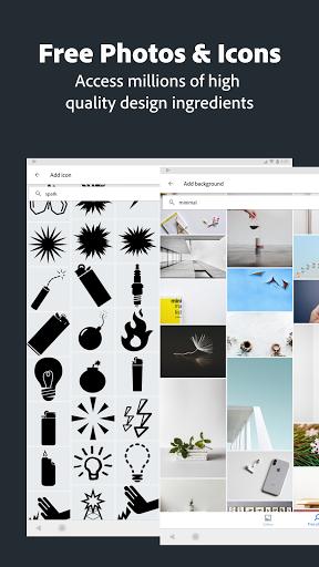 Adobe Spark Post: Graphic Design & Story Templates  screenshots 16