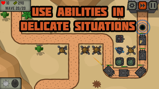 Tactical War: turn de aparare joc 2