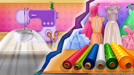 Wedding Dress Tailor Shop: Design Bridal Clothes 1.0.8 screenshots 7