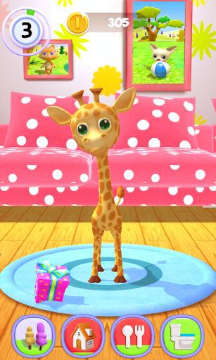 Talking Giraffe 1.54 screenshots 5