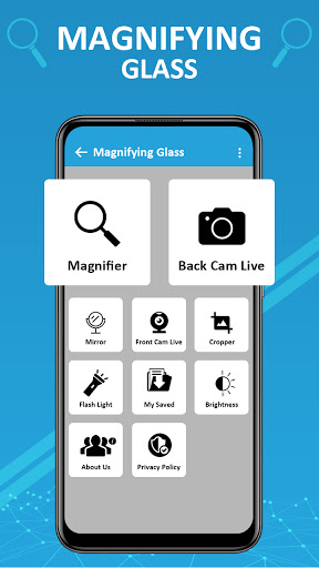 Magnifier /Text Magnifier/Digital Magnifying Glass android2mod screenshots 3