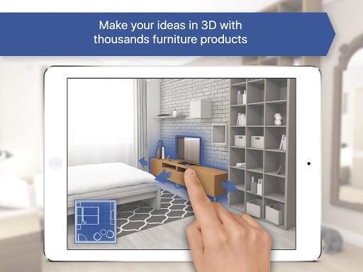 Room Planner: Home Interior & Floorplan Design 3D Apkfinish screenshots 5