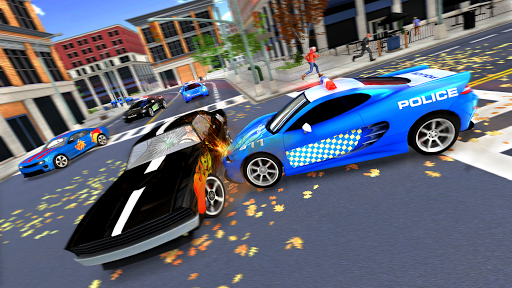 Police Cop Chase Racing: City Crime apkdebit screenshots 6