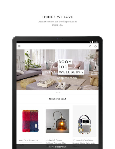 John Lewis & Partners modavailable screenshots 19