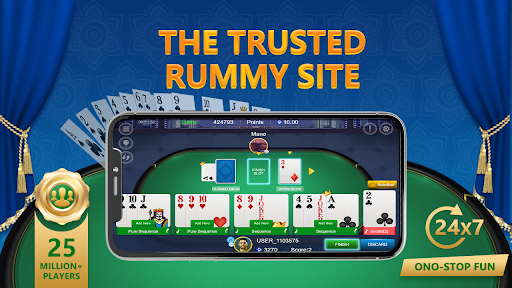 RummyGanesh - Indian Rummy Card Game Online apkslow screenshots 1