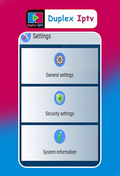 Captura de Pantalla 13 de Duplex IPTV player Clue para android