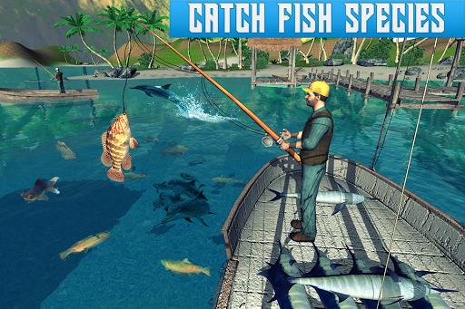 Boat Fishing Simulator: Salmon Wild Fish Hunting screenshots 1