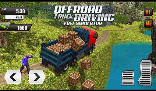 Offroad Truck Driving Simulator: Free Truck Games Apkfinish screenshots 6